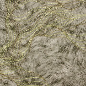 Picture of Abruzzo Taupe Wolf Wave Wallpaper