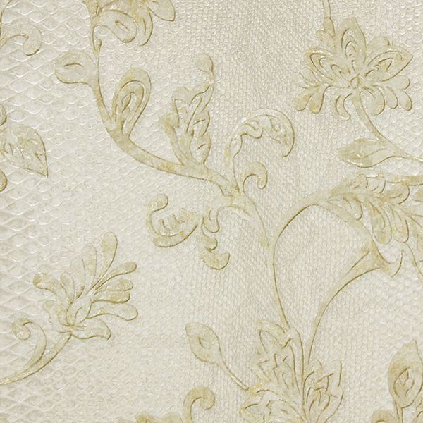 Picture of Puglia Ivory Python Arabesque Wallpaper