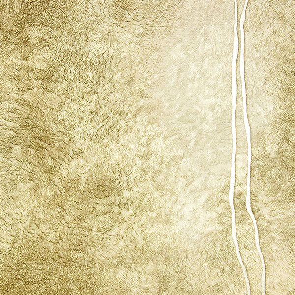 Picture of Matera Gold Fur Line Wallpaper