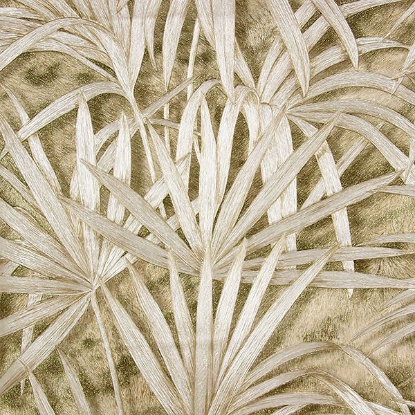 Picture of Veneto Light Brown Palm Tree Wallpaper