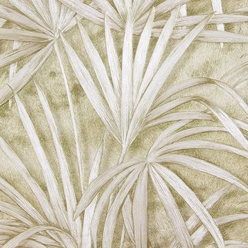 Picture of Veneto Champagne Palm Tree Wallpaper