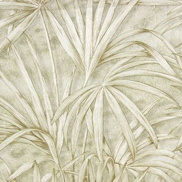 Picture of Veneto Ivory Palm Tree Wallpaper