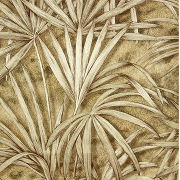 Picture of Veneto Copper Palm Tree Wallpaper