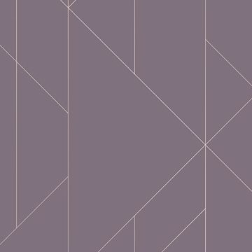 Picture of Torpa Purple Geometric Wallpaper