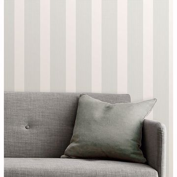 Picture of Visby Mint Stripe Wallpaper