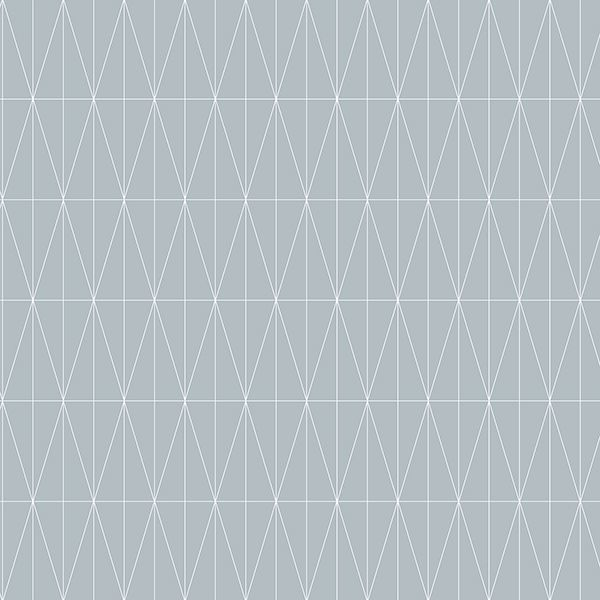 Picture of Tofta Light Blue Geometric Wallpaper