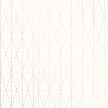 Picture of Tofta Off-white Geometric Wallpaper