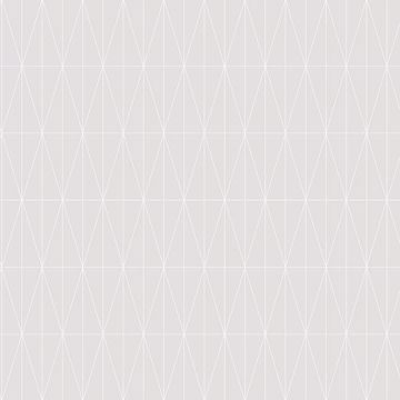 Picture of Tofta Light Grey Geometric Wallpaper