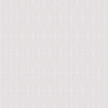 Picture of Tofta Light Grey Geometric Wallpaper