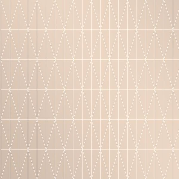 Picture of Tofta Beige Geometric Wallpaper