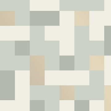 Picture of Alby Mint Geometric Wallpaper