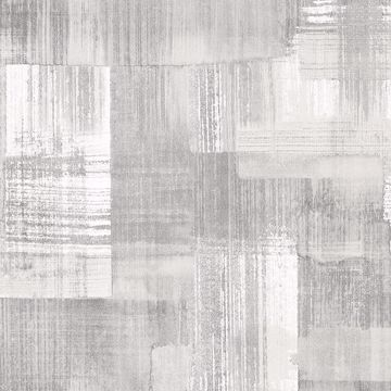 Picture of Trosa Grey Brushstroke Wallpaper
