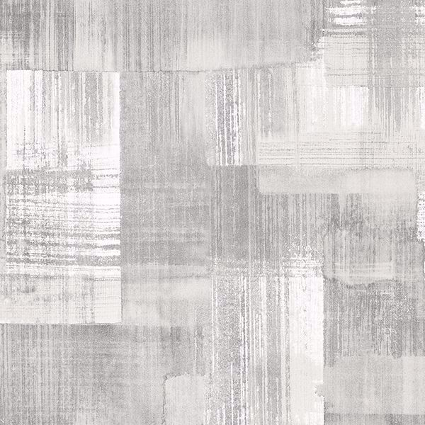 Picture of Trosa Grey Brushstroke Wallpaper