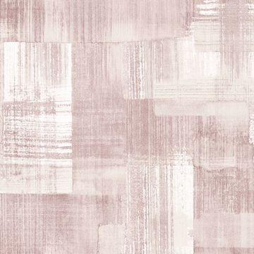 Picture of Trosa Light Pink Brushstroke Wallpaper