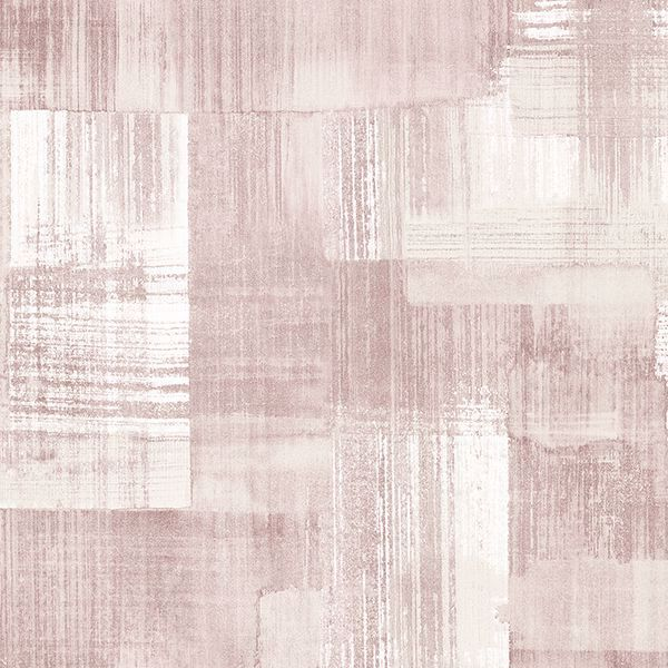 Picture of Trosa Light Pink Brushstroke Wallpaper