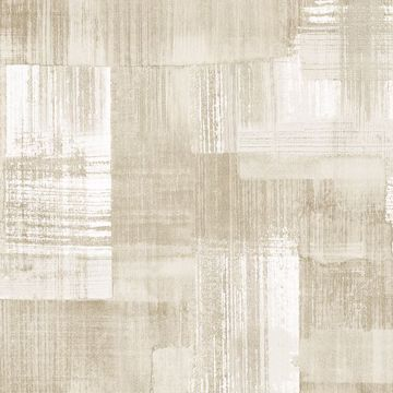 Picture of Trosa Beige Brushstroke Wallpaper