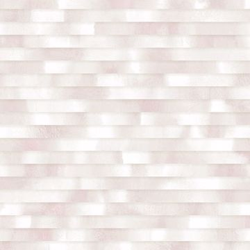 Picture of Kalmar Light Pink Hazy Stripe Wallpaper