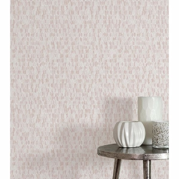 Picture of Nora Light Pink Abstract Geometric Wallpaper