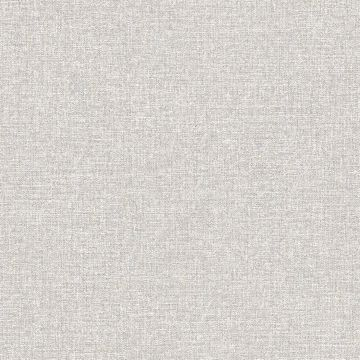 Picture of Asa Grey Linen Texture Wallpaper