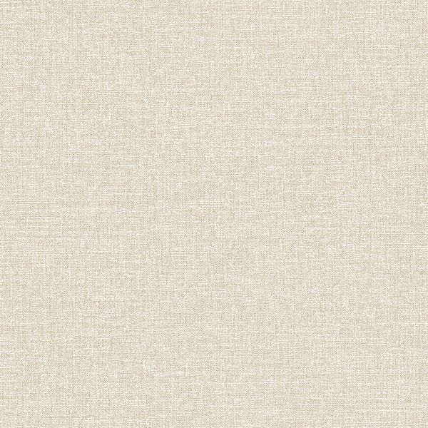 Picture of Asa Beige Linen Texture Wallpaper
