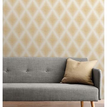 Picture of Kirana Mustard Diamond Wallpaper