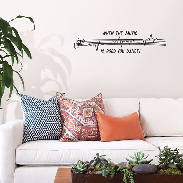 Picture of Dance to Good Music Wall Art Kit