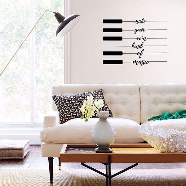 Dwpk3245 Own Kind Of Music Wall Art Kit By Wallpops