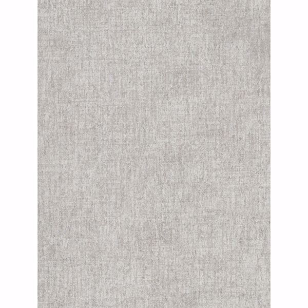 Picture of Brienne Light Grey Linen Texture Wallpaper