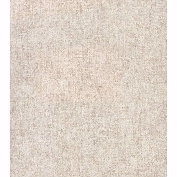 Picture of Brienne Beige Linen Texture Wallpaper