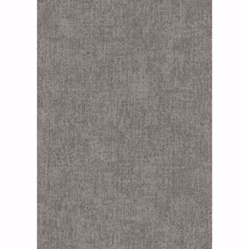Picture of Brienne Dark Brown Linen Texture Wallpaper