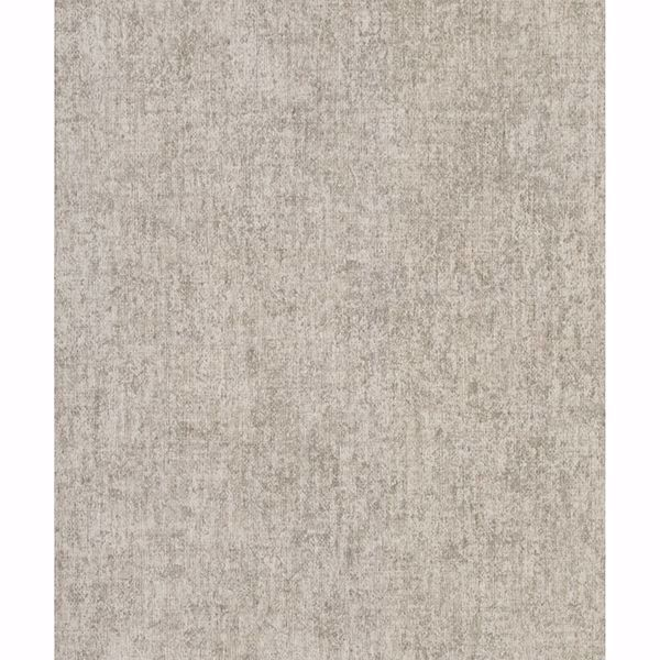 Picture of Brienne Khaki Linen Texture Wallpaper