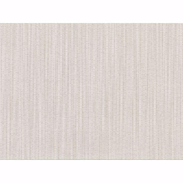 Picture of Volantis Cream Textured Stripe Wallpaper