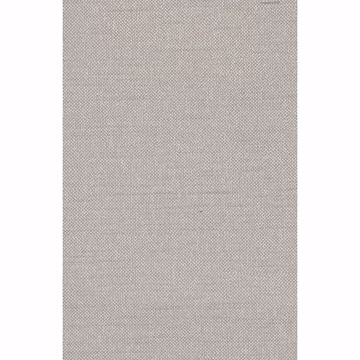 Picture of Theon Grey Linen Texture Wallpaper