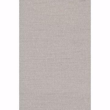Picture of Theon Grey Linen Texture Wallpaper