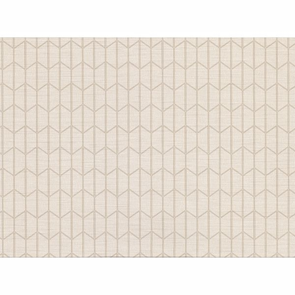 Picture of Gauntlet Cream Geometric Wallpaper