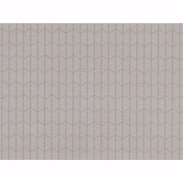 Picture of Gauntlet Grey Geometric Wallpaper
