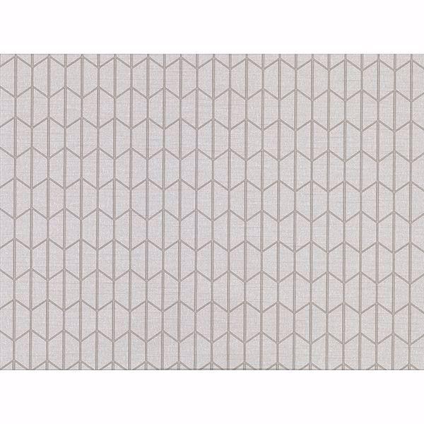 Picture of Gauntlet Light Grey Geometric Wallpaper