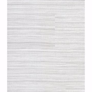 Picture of Tyrell Light Grey Faux Grasscloth Wallpaper