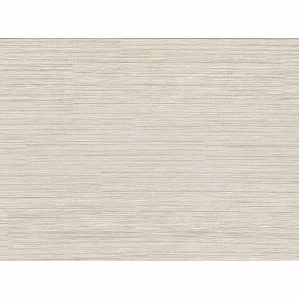 Picture of Tyrell Beige Faux Grasscloth Wallpaper