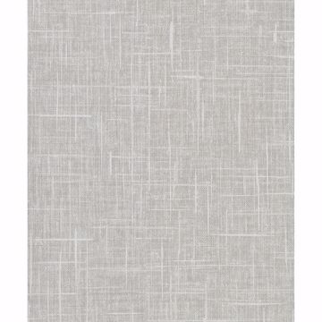 Picture of Stannis Grey Linen Texture Wallpaper
