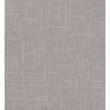 Picture of Stannis Taupe Linen Texture Wallpaper
