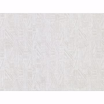 Picture of Kensho Off-White Parquet Wood Wallpaper