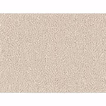 Picture of Karma Beige Herringhone Weave Wallpaper