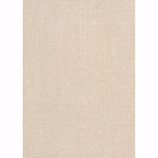 Picture of Arya Cream Fabric Texture Wallpaper