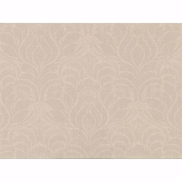 Picture of Sandor Cream Damask Wallpaper