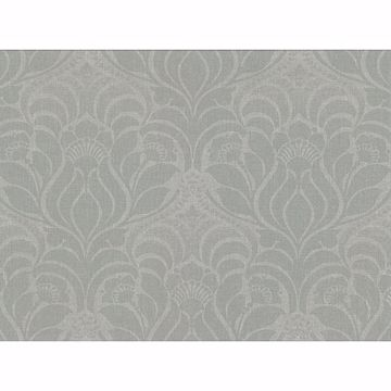 Picture of Sandor Sage Damask Wallpaper