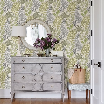 Picture of Palomas Grey Botanical Wallpaper