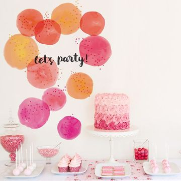 Picture of Lets Party Wall Art Kit