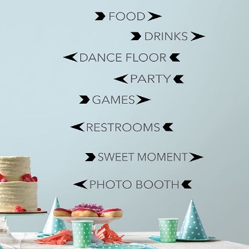 Picture of Party Signs Wall Art Kit