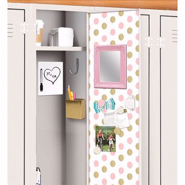 Picture of Confetti Dot Locker Kit Locker Kit